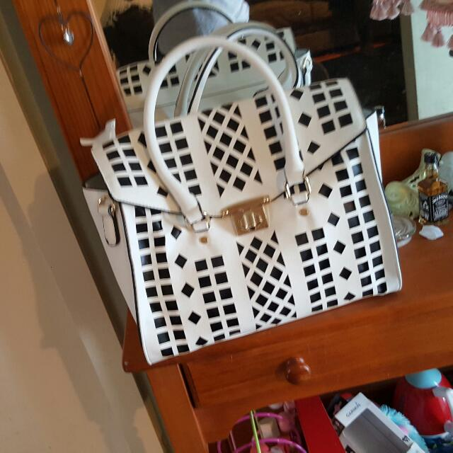 White Novo Handbag