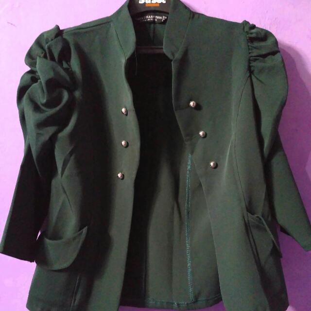 Zara Blazer Dark Green