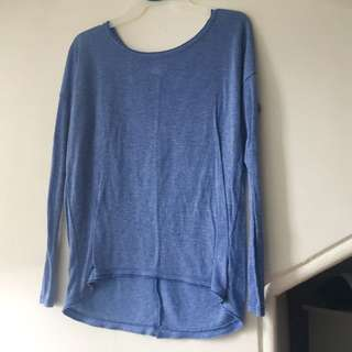 Aerie Blue Long Sleeve