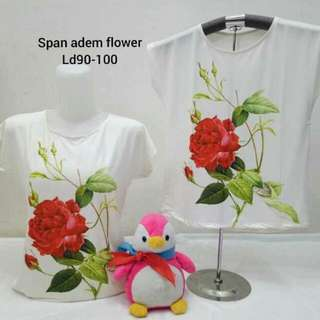 BLOUSE RED ROSE