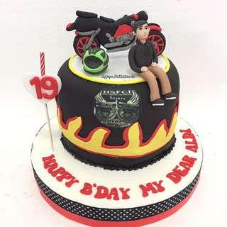 Motorcyle Cake