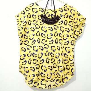 Animal Printed Yellow