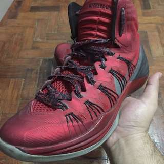 Nike Hyperdunk 2013 Red/Black Colorway W/ Lava Lace