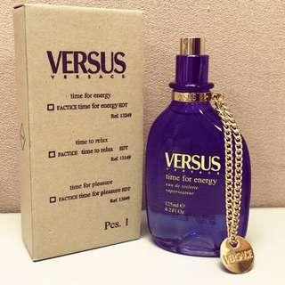 #我有香水要賣  VERSACE凡賽斯 Time for Energy 能量中性香水-125ml,tester,划算唷!