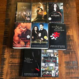 The Twilight Saga Movie Cover Editions