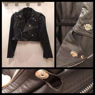 Size M/L - Leather Jacket