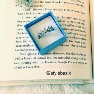 Silver Princess Ring