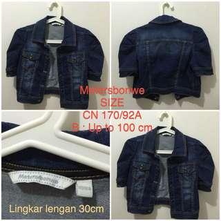 Metersbonwe Jeans Jacket