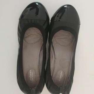 Heeled Ballerina Flats