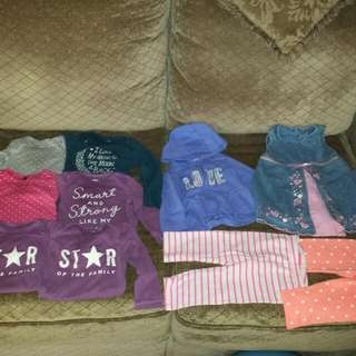 Toddler Girl Clothing Lot