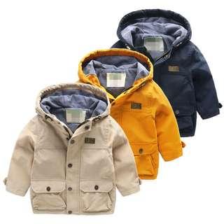 兒童男女童中性款風衣外套👦👧