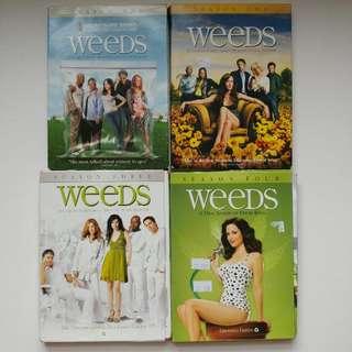 Weeds 4 Seasons DVD