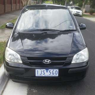 Hyundai getz 2004 Automatic 5D Rego For 11 Month+rwc