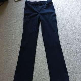 SABA Pants, Navy, Size 8