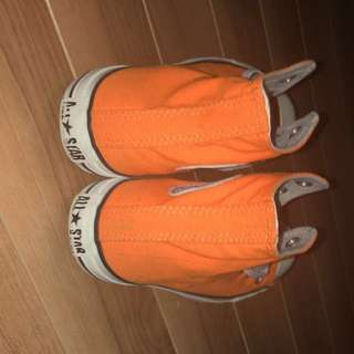 Neon Orange Converse Woman Size 7