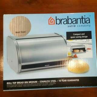 Brabantia Roll Top Bread Bin (Medium)
