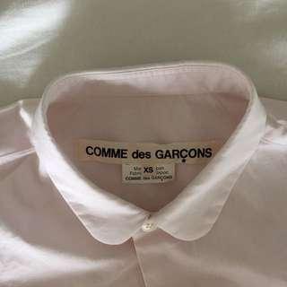 Comme Des Garcon Pink Shirt