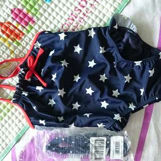 Swimming Spaghetti Suit For 12-18 Mth