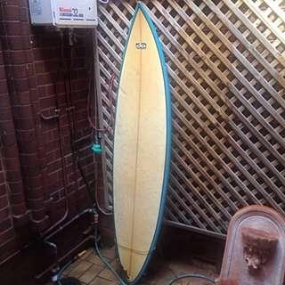 6'8 Dennis Anderson DA Shapers Surfboard