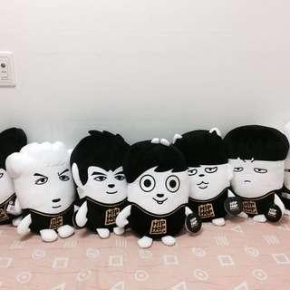 BTS Hiphop Monster Cushion [LIMITED]