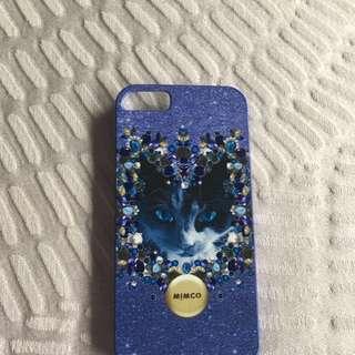 Mimco Iphone 5 Cat case