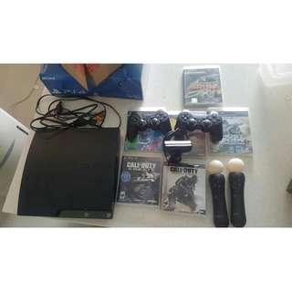 Playstation 3 320gb Full Set (No JAILBREAK)