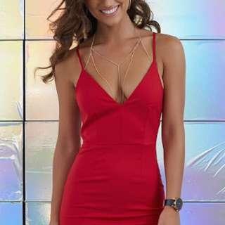 Cosmopolitan Dress Red
