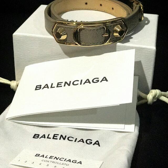 GOOD DEAL Balenciaga Metallic Edge Triple Tour Size S