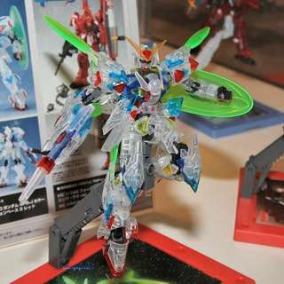 HG 1/144 Beginning 30 Gundam GPB-J colors / Clear IFS ver.+Action Base 3 RED