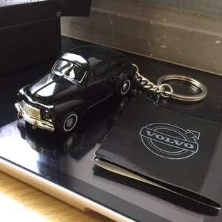Volvo 經典 原廠模型 鑰匙圈