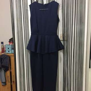 Navy Jumpsuit (INCLUDED ONGKIR)
