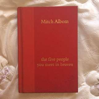 The Five People You Meet In Heaven By Mitch Alb
