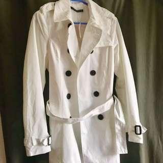 BNWT White Trench Coat