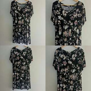 Casual Cotton Floral Dress