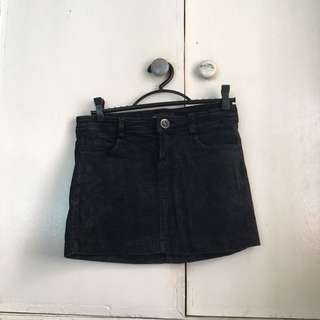 Mango Corduroy Mini Skirt