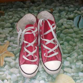 Repriced: Original Red Converse (Chuck Taylor)