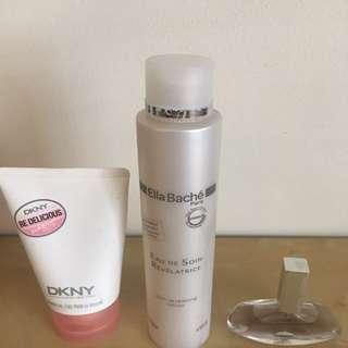 Ella Bache Toner DKNY Shower Gel And Calvin Klein Perfume