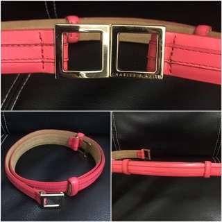 Charles 'n Keith Belt Pink