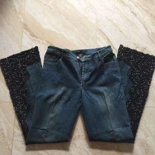 CLYN celana Jeans