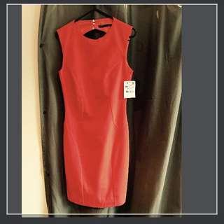 BNWT Red Zara Dreas XS - S - 6