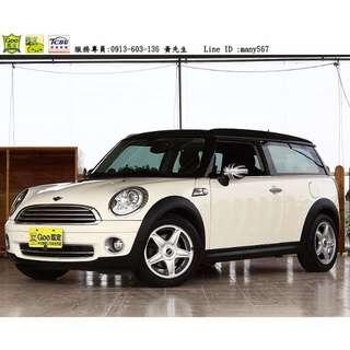 2008年 Mini Clubman 小型旅行車 復古風 市區都會雅痞 迷你商用車載貨也方便
