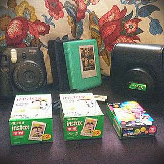 PRICE DROP Perfect INSTAX Mini 8 Starter Pack