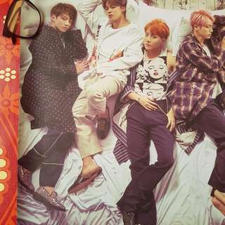 OFFICIAL BTS WINGS ALBUM POSTER