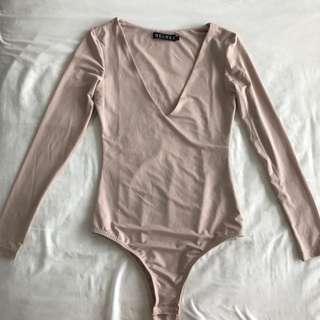 Meshki Blush Bodysuit - Size XS