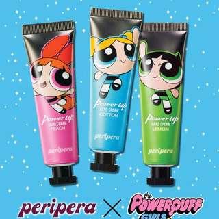 PERIPERA Power Up Hand Cream (Powerpuff Girls)