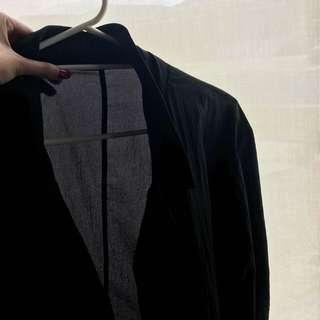 Lacoste Black Long Coat