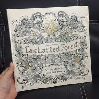 NEW! Echanted Forest Colouring Book