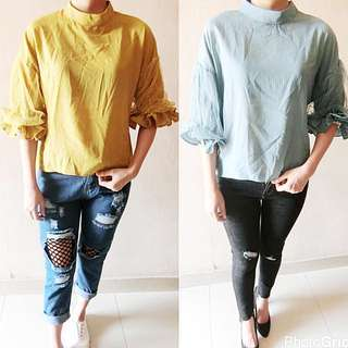 Baju Lengan Panjang Unik