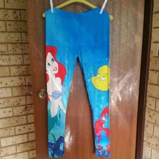 Disney Little Mermaid Legging Tights