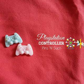 Playstation Controller Brooch